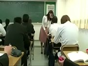 teacher girl with dildo with remote.