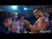 Swinger club sex self bondage bdsm