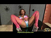 black girl have surprise gloryhole 1