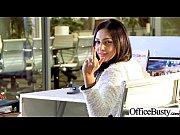 (audrey bitoni) Slut Office Girl With Round Big Boobs Love Sex movie-05
