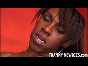 this big black tranny is going to pound.