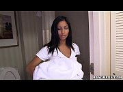 perving on young hotel maid