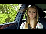 stranded blonde teen fucking in car.