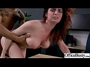 busty sluty girl enjoy hardcore sex in office.