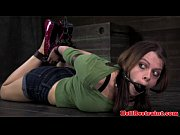 spider gagged skank being flogged