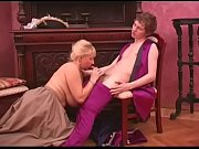 retro dress for busty russian mature with young guy