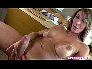 Bigbooty latina tgirl bareback fucked