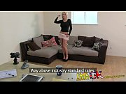 fakeagentuk beautiful petite blonde gives amazing blowjob in.