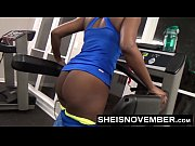 Msnovember Fucked By Stranger In Public Gym Rough Doggystyle Pounding &amp_ Blowjob