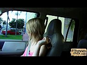 blonde teen fucks for a ride.