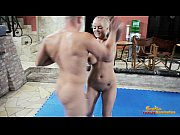 nude mixed wrestling fight with a.