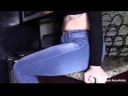 girl fart jeans
