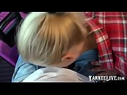 german amateur blonde public blowjob in train