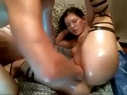 diamond gets her pussy brutally abused