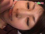 白石麻梨子 ムッチリ美人巨乳を拘束して挿入からの顔射