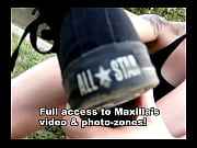 Smelly feet &amp_ socks of Maxine