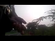 musterbating on railway track