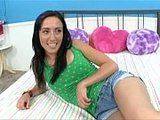 cute teen kira kane likes big.