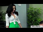 Big Melon Tits Worker Girl Fucks In Office clip-15