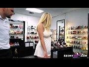 Gold digger wife cheats with the shoe shop assistant! - Olivia Austin