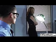 office girl (julia ann) with big melon tits.