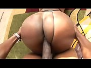 gorgeous ebony takes a big dick