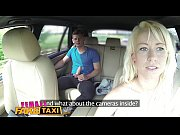 Female Fake Taxi Horny blonde taxi driver loves young guy&rsquo_s cock