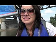 Cute Czech girl Shara Jones paid for fucking with stranger on a boat