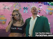 Sexy all natural blonde Nicole Anniston fucks her fan Rusty Thumbnail