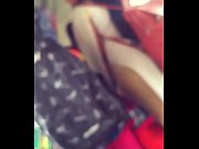 Girl showing her ass in Hyderabad bus