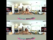 abella undresses to her massage comfort level vr360.