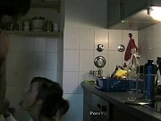 awesome doggystyle sex in kitchen.