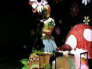 straight guy sissy maid forced crossdressing alice in.