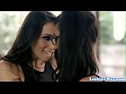 tribbing lesbians enjoy romantic foreplay