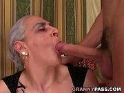 granny sucks huge young cock