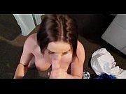 krissy lynn gets cum in her.