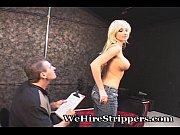 hot blonde gives older guy awesome.
