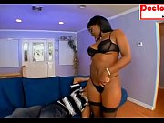 MOM EBONY FUCKS SON
