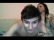 web cam lovers having fun