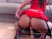 anal  Tattooed doll in short skirt selflessly rides a dildo  More at camz