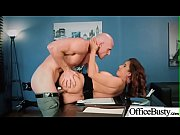 hardcore sex in office with big round tits.
