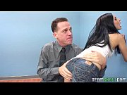 naughty teen spanked and fucked in the classroom