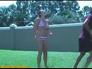 Culotte sous jupe fille black salope