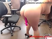 latina dildo her perfect pussy at work on.