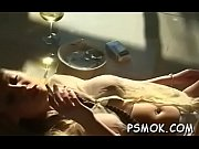 Tempting hottie smoking scene