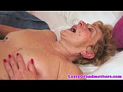 hairy granny with bigtits gets fucked.