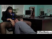 office sex tape with slut worker busty girl vid-29