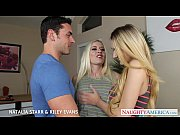 blonde cuties natalia starr and riley evans in threesome