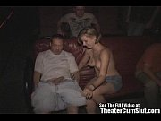 tattoo slut fucked in porn theater