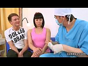 Bf assists with hymen physical and poking of virgin girl